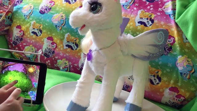 *NEW* StarLily My Magical Unicorn Pet App FurReal Friends Interactive Toy Game Playing Part 1