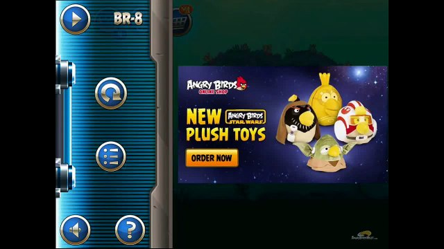 Angry Birds Star Wars 2 Level BR-8 Anakin Skywalker Jedi Padawan Reward Chapter 3 star Walkthrough