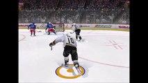 "NHL 09: Corey Perry funny ""injury"""