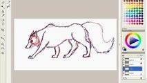 Kyota Wolf Speedpaint