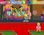 The Simpsons - Arcade Game - Playthrough - Bart Simpson