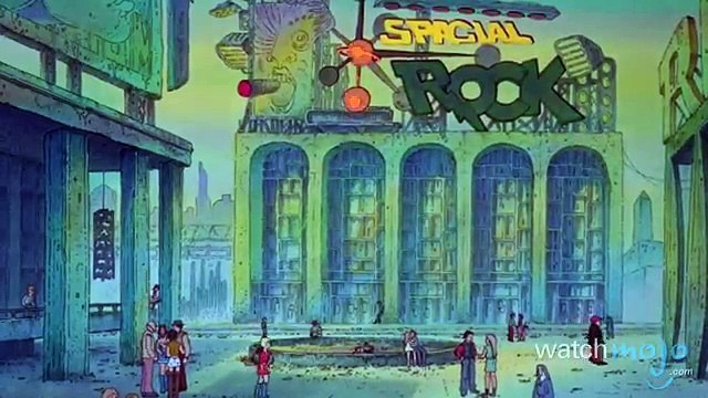Top 10  Animated Sci Fi Films (World Music 720p)