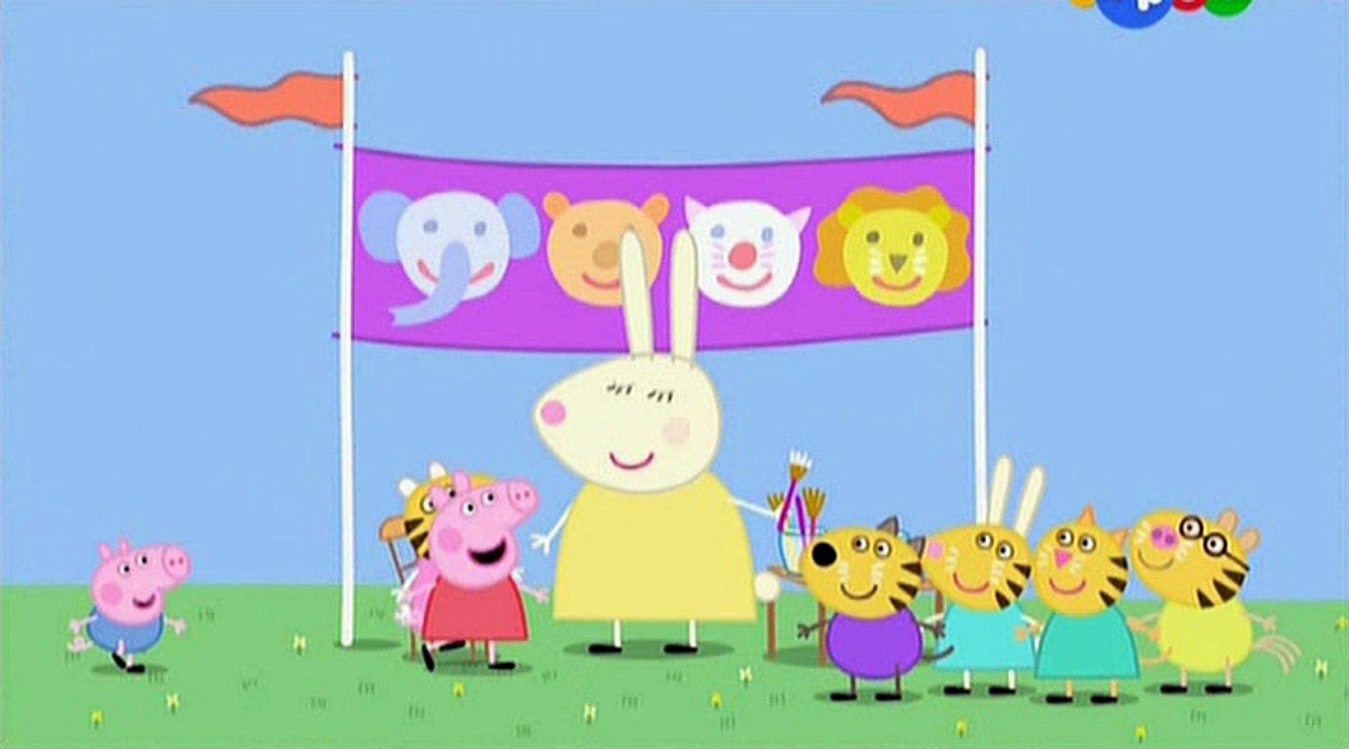 Свинка Пеппа- Школьная ярмарка- The School Fete -Все серии подряд Свинка Пеппа