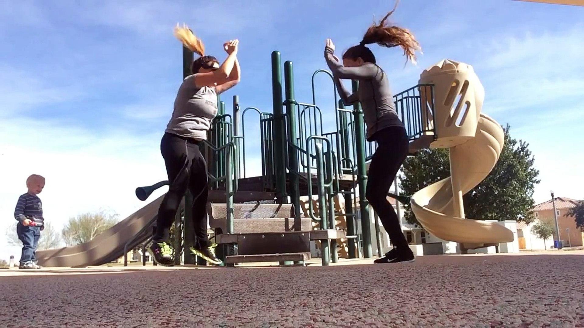 Partner Bodyweight Toning, Cardio and Strength Workout