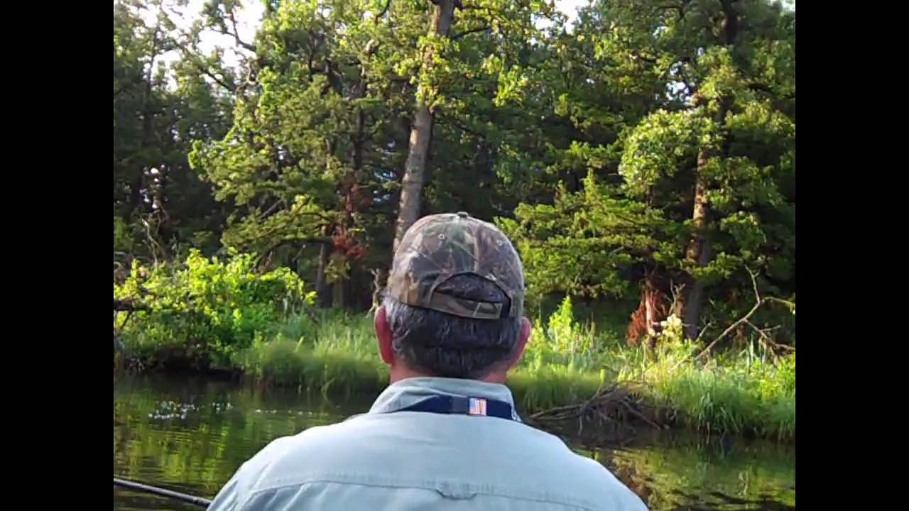 Kayak Bass Fishing July 10, 2010