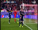هدف أتلتيكو مدريد الأول ضد برشلونة دورى أبطال أوروبا
