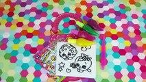 Shopkins DIY Custom Clear Jelly Color Window Sticker Super Activity Set