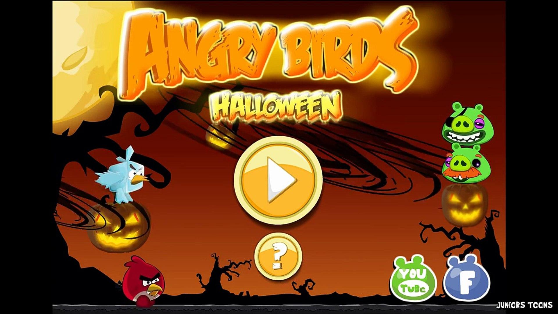Angry Birds Hammier Things angry birds halloween adventure | gameplay walkthrough