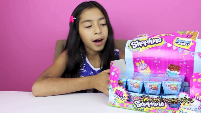 Shopkins Blind Baskets| Shopkins Mystery Toys|Toy Reviews| Unboxing Shopkins|B2cutecupcakes