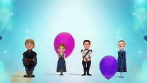 Los niños de Frozen   Cumpleaños feliz Elsa Kristoff Olaf y Ana