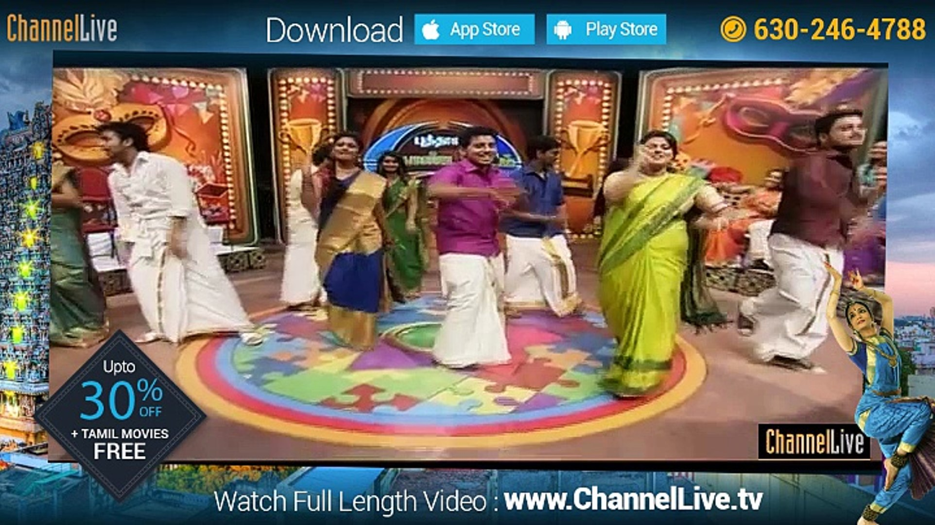 Jaya TV Tamil New year specail programs on ChannelLive TV!
