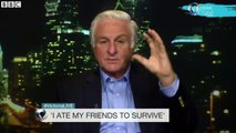 Dr Roberto Canessa, who survived a plane crash in the Andes in 1972, ate friends' bodies to survive