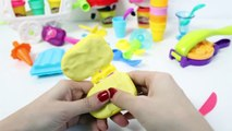 Peppa Pig Play Doh Ice Creams Peppa Playsets Play Dough Ice Cream Parlor Toy Videos Part 3