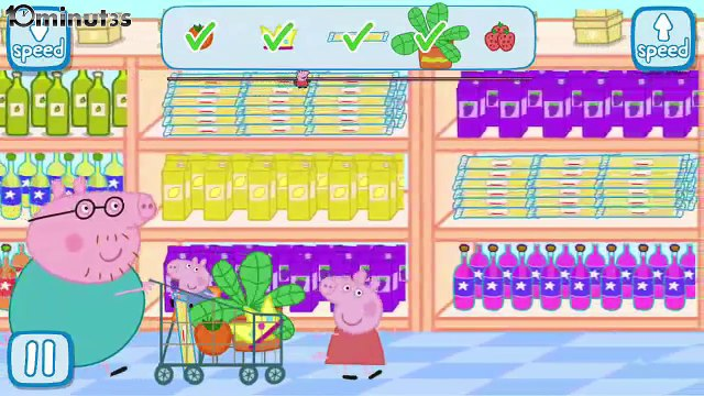 Peppa Pig Games: Peppa in the Supermarket GamePlay Trailer