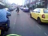 gilera runner 200 piaggio nrg 125 piaggio typhoon 80 shack wheelies part2 north london