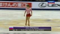 2014 LEXUS Cup of China. Ladies - Short Program. Julia LIPNITSKAIA