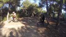 mañana de DH vedat team downhill cerro bajo