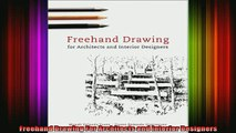 Read  Freehand Drawing For Architects and Interior Designers  Full EBook