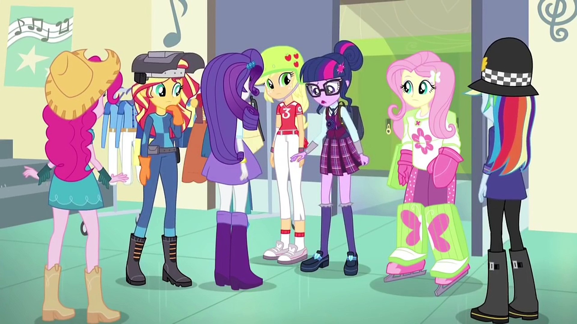 [Rus Voice]MLP:Equestria Girls: Friendship Games- Review # 1 На Русском