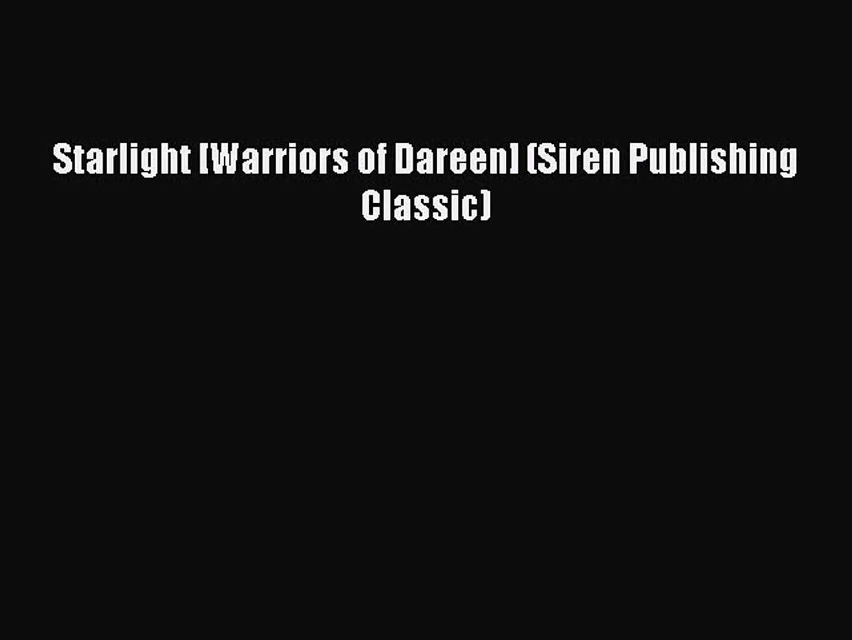 Stardust [Warriors of Dareen 2] (Siren Publishing Classic)