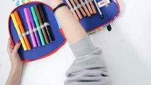 Pocoyo Pencil Case Pocoyo Drawing How to Draw Pocoyo Shape DIY Estuche de Colores de Pocoyó Покојо
