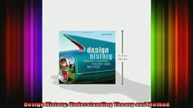 Read  Design History Understanding Theory and Method  Full EBook