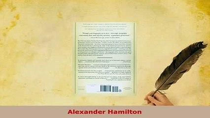 Download  Alexander Hamilton Download Online