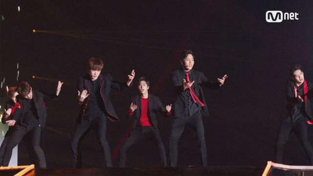 [KCON 2016 Japan×M COUNTDOWN] 상남자들의 칼군무! 'MONSTA X'의 '무단침입' 무대