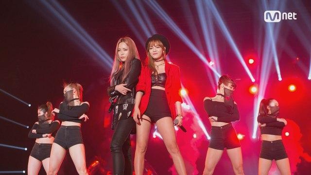 [KCON 2016 Japan×M COUNTDOWN] 걸크러쉬 언니들 '지민&헤이즈'의 'Puss' 무대