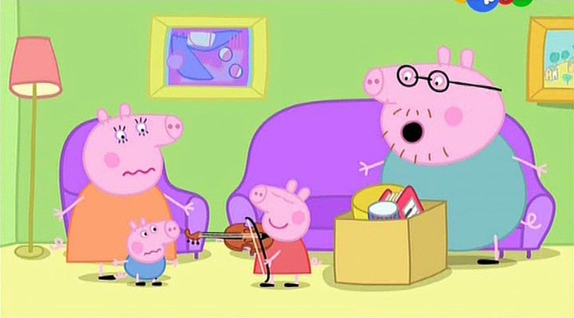 Свинка Пеппа- Музыкальные инструменты- Musical Instruments -Все серии подряд Свинка Пеппа