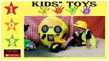 [Kids' Toys 102] Xe đồ chơi trẻ em - Xe tải, xe xúc, xe cứu hỏa, xe ben, xe cần cẩu, xe rác, Xe ủi