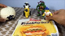 S02 E04 Shaun the sheep (Mac Donalds toys) timmy time TMNT SpongeBob toys knacki