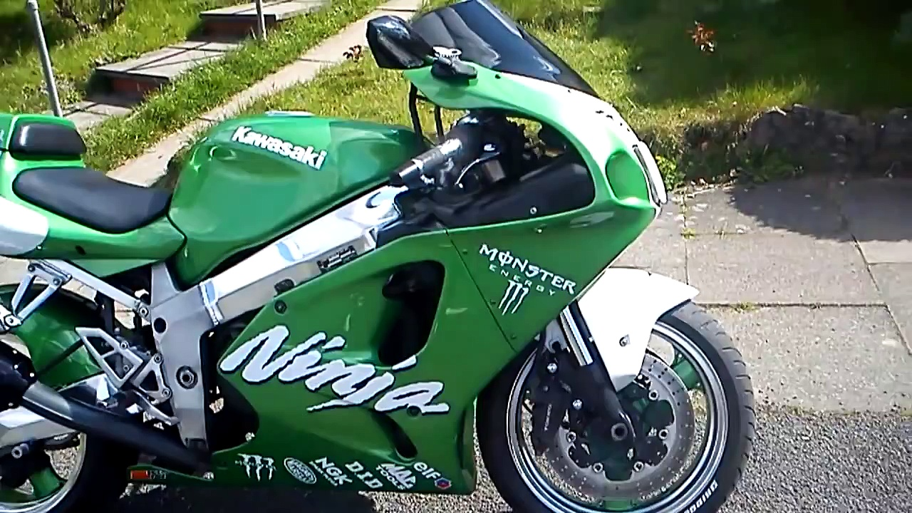 Kawasaki zx7r 1997