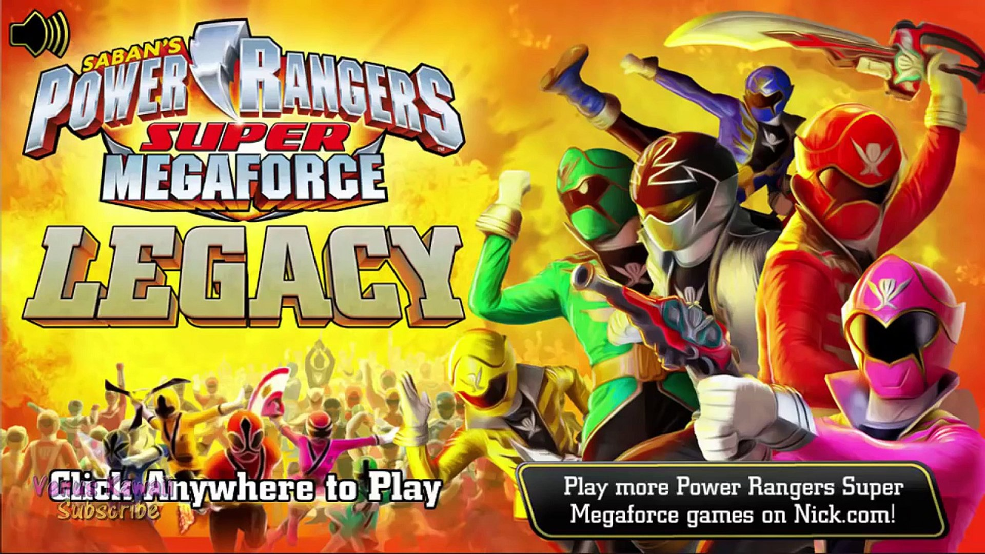 Power Rangers: Super Megaforce: Legacy Nick Games