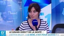 """Laëtitia Milot : """"faire bouger les choses"""" sur l'endométriose"""