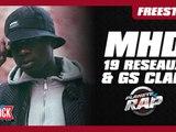 Freestyle de MHD, 19 Reseaux & GS Clan dans Planète Rap !