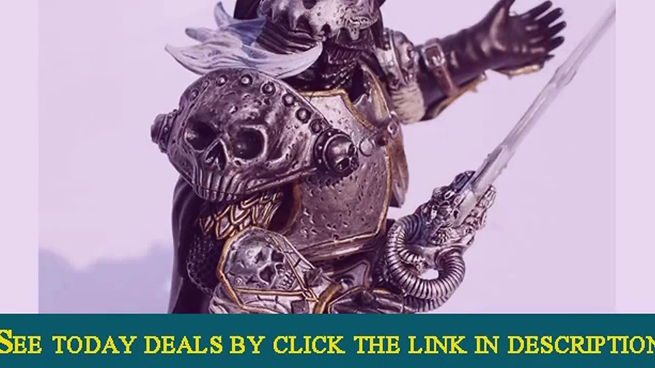 WOW World of Warcraft Arthas Fall of The Lich King Arthas M