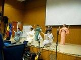 Traditional japanese dance..Dimitrie Cantemir Japanese festival