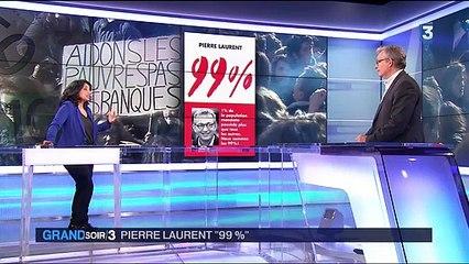 Pour une révolution démocratique - P. Laurent invité du grand Soir 3 le 13 avril 2016