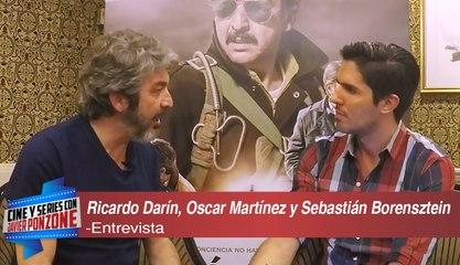 """A solas con Ricardo Darín, Oscar Martínez y Sebastián Borensztein de """"Kóblic"""" por Javier Ponzone"""