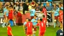 Rugby : Bourgoin - Agen 2005, grosse bagarre générale en Top 14