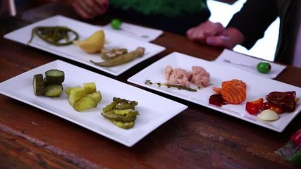 Pickle Tasting in Brooklyn