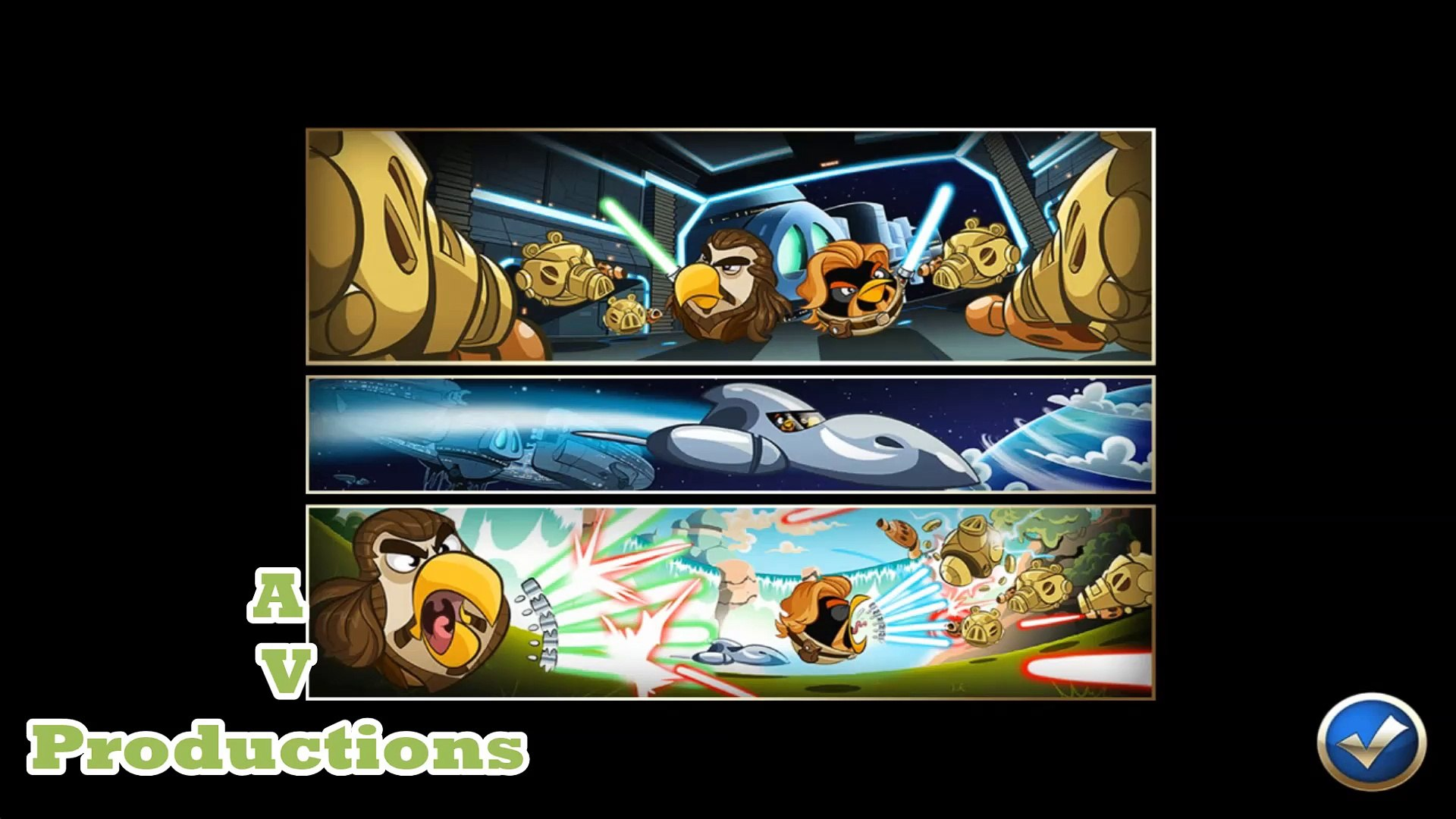 Angry Birds Star Wars Ii The Bird Side All Cutscenes Video Dailymotion