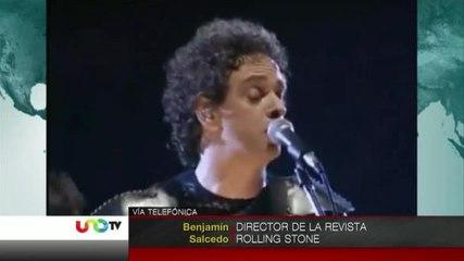 Gustavo Cerati, icono del rock en español