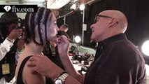 Makeup styling at Desigual Spring-Summer 2016 - New York Fashion Week - FTV.com