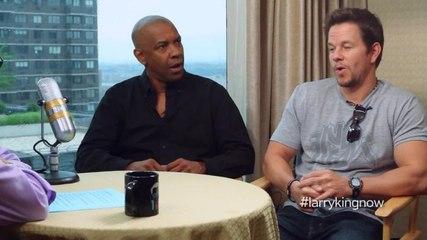 Mark Whalberg and Denzel Washington talk about 2 Guns