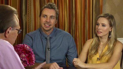 Dax Shephard and Kristen Bell talk about Hit and Run