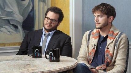 Ashton Kutcher and Josh Gad discuss Jobs