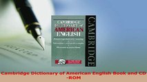 Cambridge International Dictionary of English with CDROM