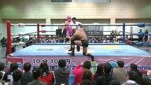 Yutaka Yoshie vs. Zeus (4/10/16)